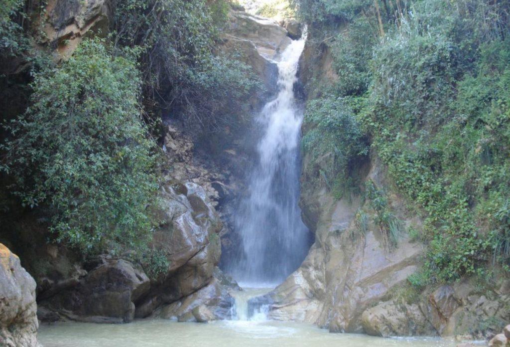 Cascada de Llacanora - sitios turistios de Cajamarca