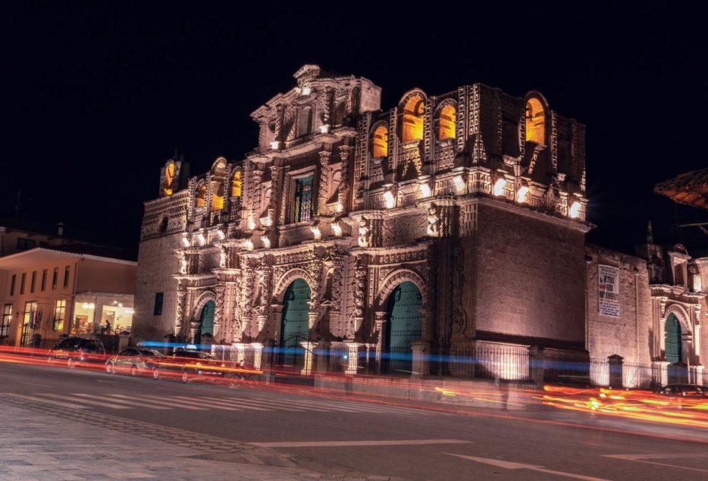 Catedral de Cajamarca - atracciones en Cajamarca