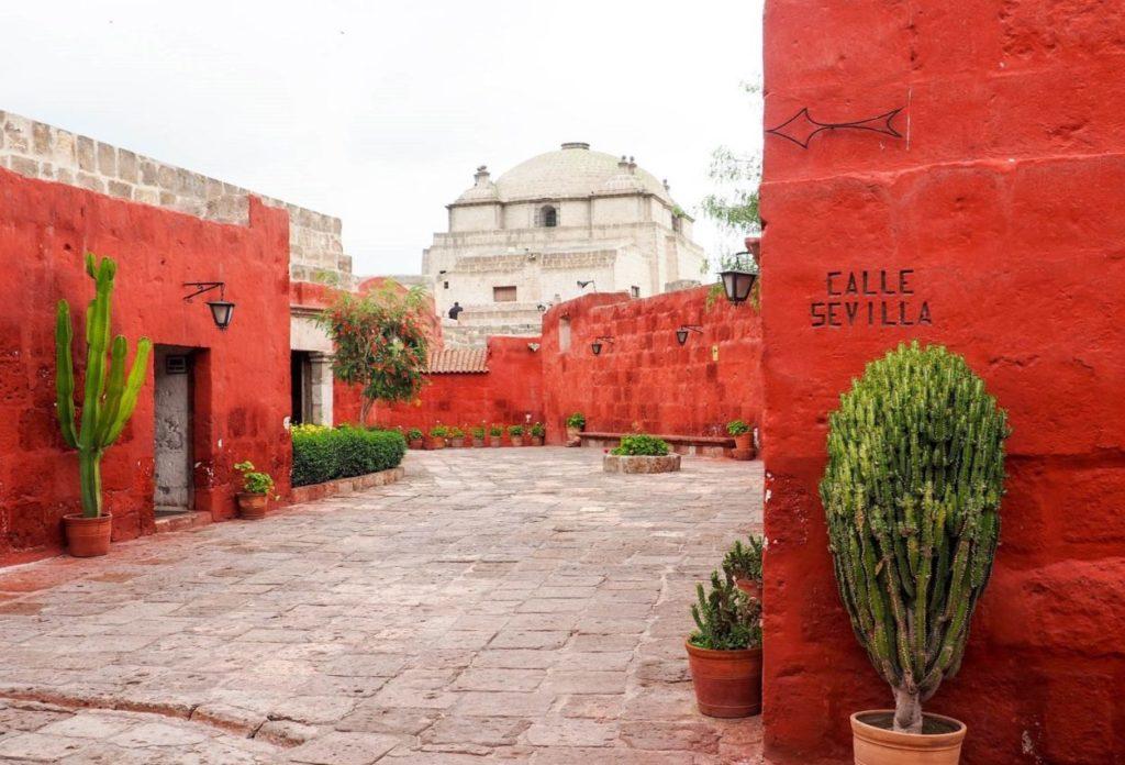 El Monasterio de Santa Catalina - lugares turísticos de Arequipa