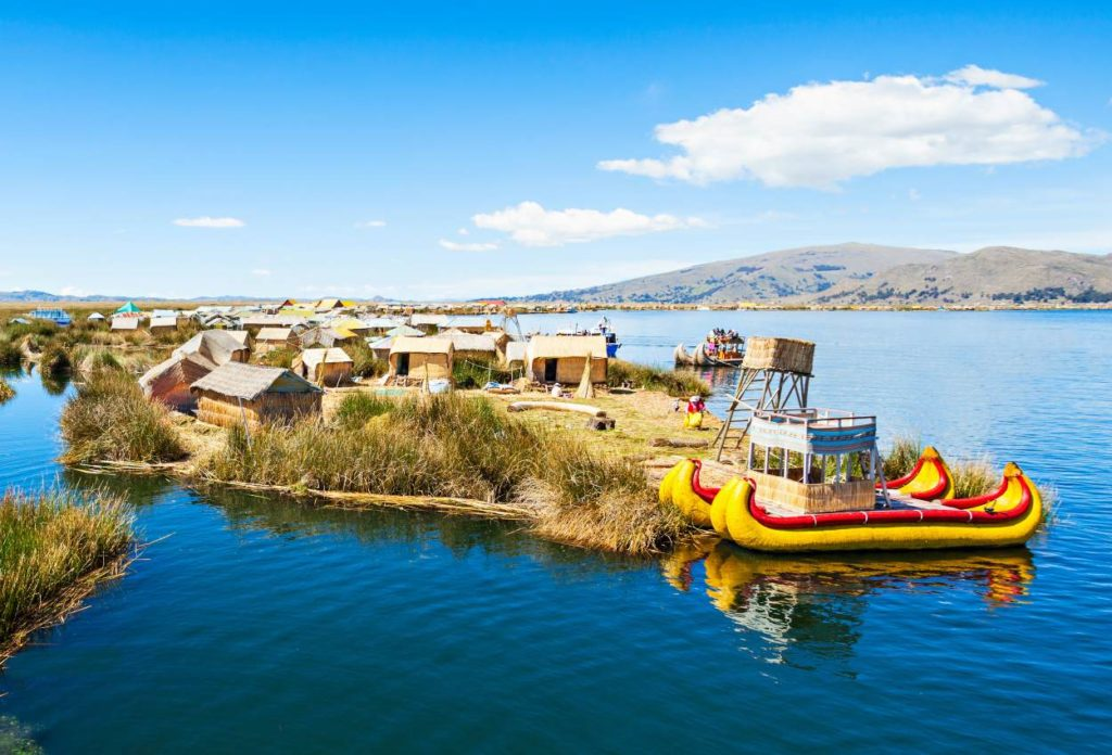 Reserva Nacional del Titicaca - Lugares turíticos de Puno
