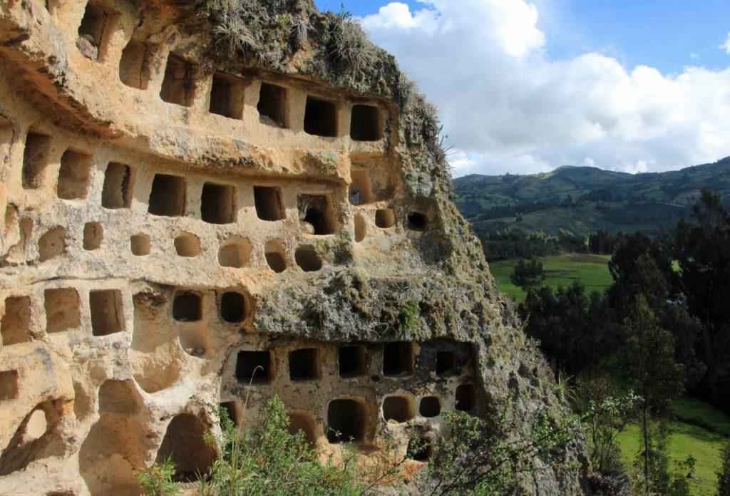 Ventanillas de Combayo - lugares turísticos en Cajamarca